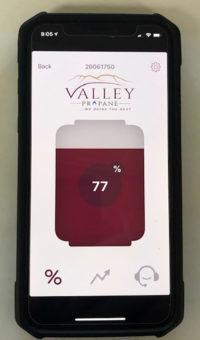 Tank Monitoring Smartphone